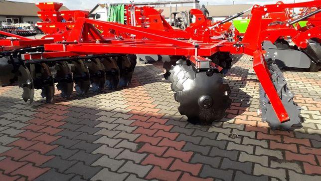 Brona talerzowa talerzówka agregat V X 1,6m - 3,15 m Strumyk Transport