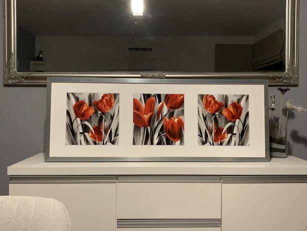 Obraz Tulipany 104x38 cm