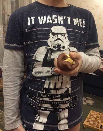 "Пижама ""Star Wars"" для мальчика 7/8 лет 128 см 95грн"