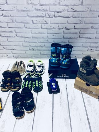Пакет детской обуви для малышей Детская обувь Demar Geox