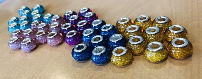 Beads charms koralik zawieszka pasuje do Pandora Apart różne kolory