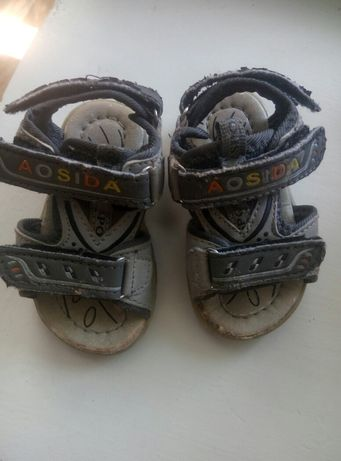 Босоножки, сандалии, сандалики,пинетки на мальчика 14 размер + подарок