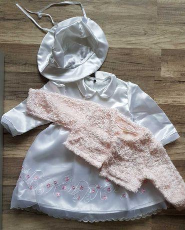 Sukienka+bolerko na roczek