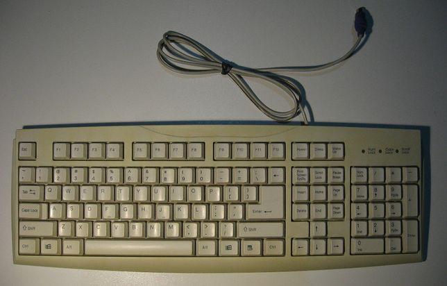 Klawiatura PS2 KB-1107. QWERTY, zadbana.