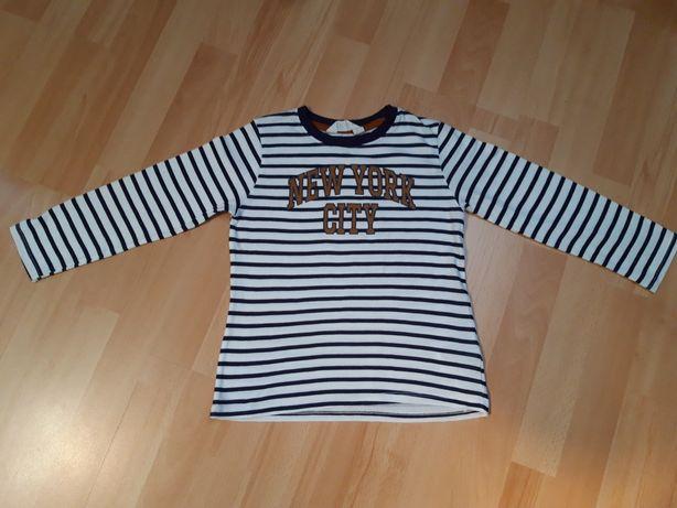 H&M Bluzeczka z długim rękawem 110-116 Stan idealny