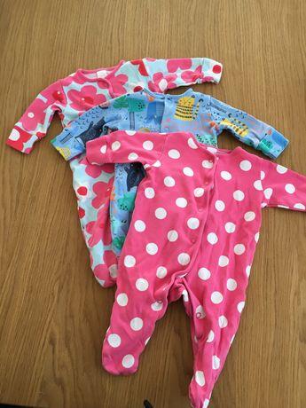 Pajacyki piżamki NEXT 56 62