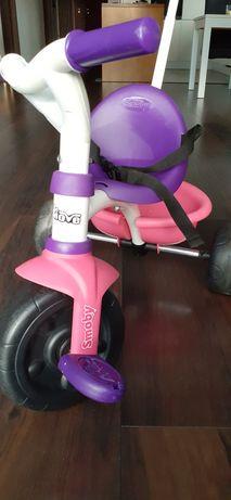 trycykl,  rowerek trzykołowy dla dziecka, dziewczynki Decathlon