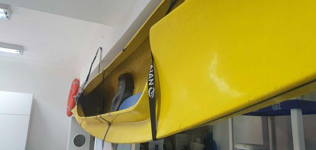 Canoa amarela 2 lugares