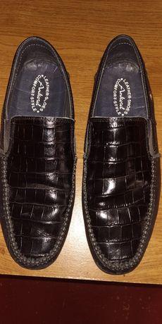 Туфли кожаные мужские (подростковые)