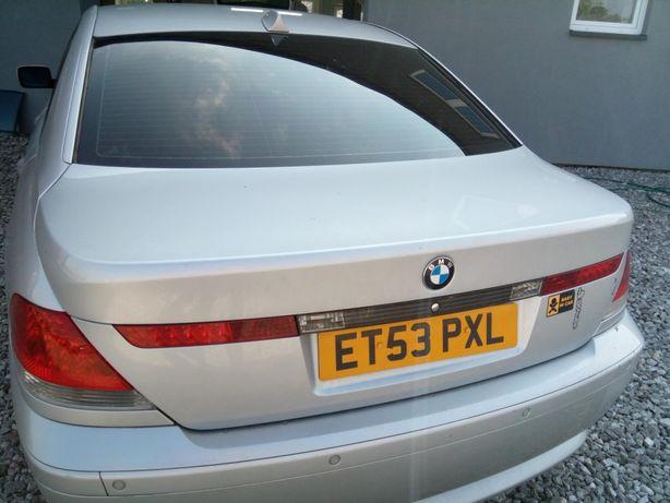 Klapa tył BMW E65 titansilber