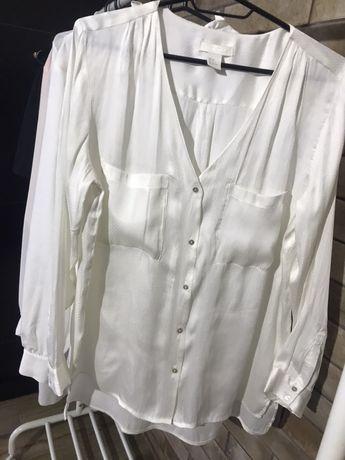 Блузка белая h&m s-m