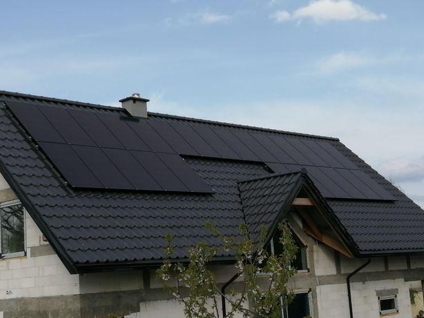 Fotowoltaika .Panele Swiss Solar Szwajcarskiej firmy . Black .