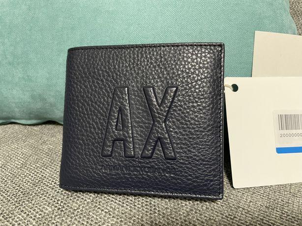 Новий чоловічий гаманець ( кошельок ) Armani Exchange