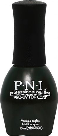 Закрепитель лака для ногтей P.N.L. 408 Gel look Top Coat 15 мл