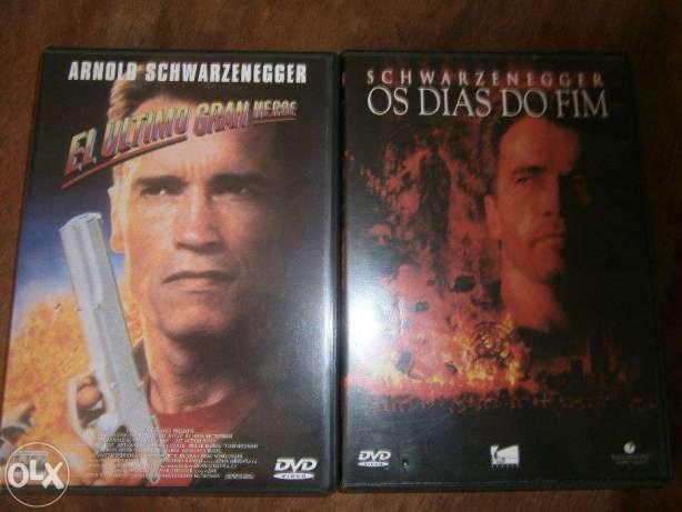 Colecção de 7 DVD l Arnold Schwarzenegger