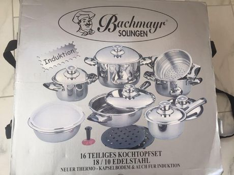 Новий набір посуду, набор посуды, Bachmayr Solingen BM-1654