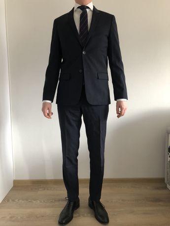 Костюм (піджак + штани) Calvin Klein темно синій