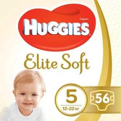 Подгузник Huggies Elite Soft 5 Mega 56 шт