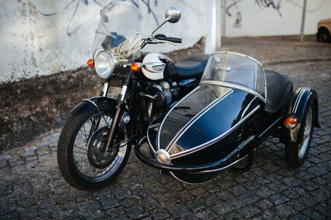 British GP Manx Sidecar Vintage Mota Universal Triumph Bonneville