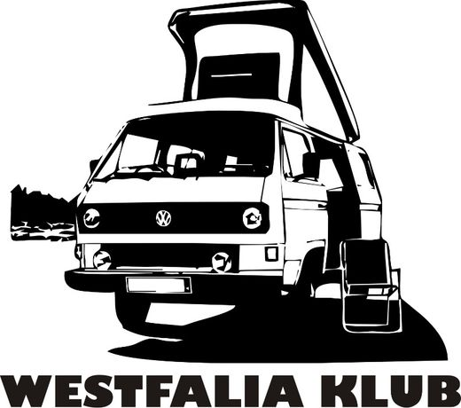 n629-naklejka VW T3 kemping Westfalia Joker