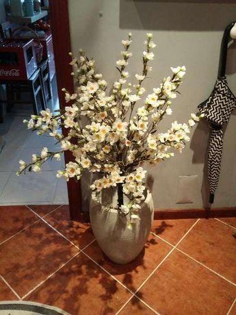 Planta artificial + vaso