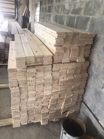 Штакетник деревянный, сосновый торцованный.