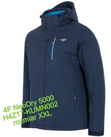nowa męska kurtka zimowa 4F NeoDry 5000 r. XXL narciarska