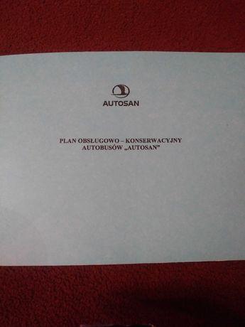 Plan obslugowo-konserwacyjny autobusow Autosan ksiazeczka