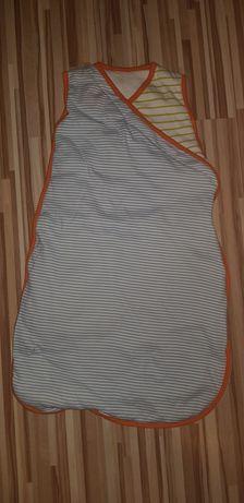 Śpiwór śpiworek otulacz dla dziecka 68 nowy ocieplany