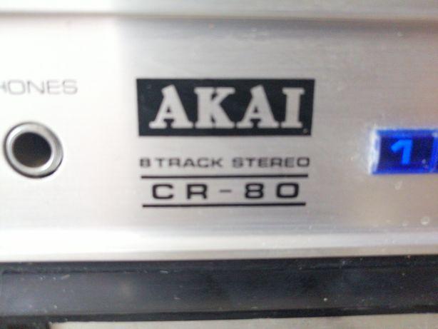 Raro leitor Akai cr 80