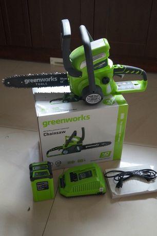 -30% Komplet Piła lancuchowa akumulatorowa Greenworks 40 Stihl pilarka