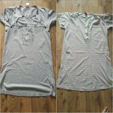 Ubrania ciążowe koszule do karmienia koszulki spodnie spodnica roz S M