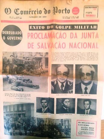 Jornal raro de 26 Abril 1974