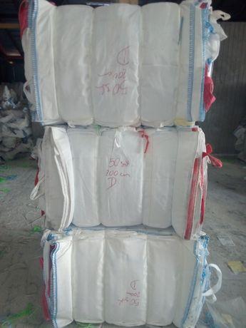 Worki Big bag ! 90/90/125 cm ! Do Trocin,Drewna,Kamienia,Pyłów 1000 kg