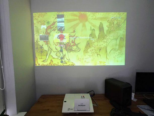 Projektor krótkoogniskowy hitachi A221N tane kino HDMI ekran