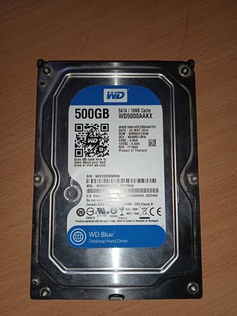 HHD жёсткий диск два по 500 за 600.