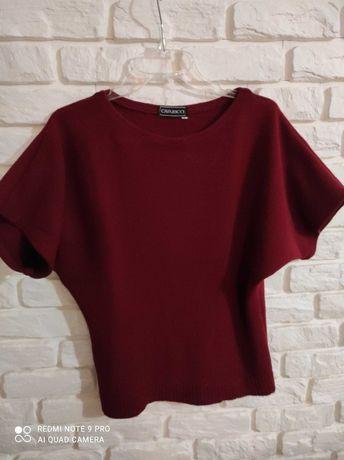 Sweter bezrękawnik damski