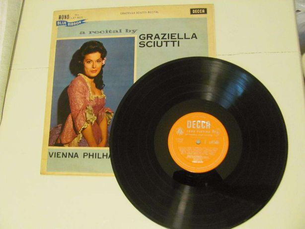 LP Vinil RARO Recital de Mozart por Graziella Sciutti