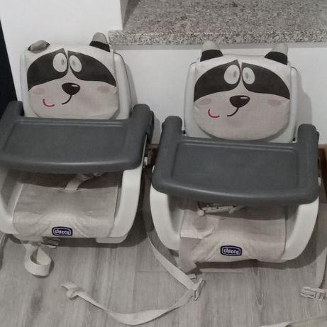 Cadeiras para refeição de bebê