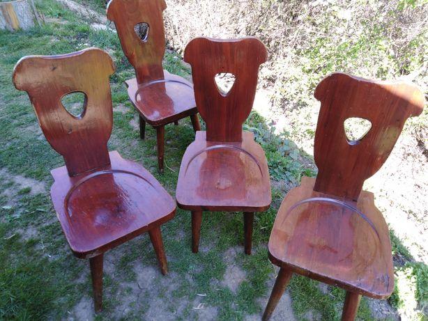 Krzesła zydle prl