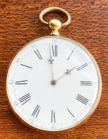Relógio de bolso Vintage em OURO