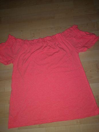 Bluzka hiszpanka różowa