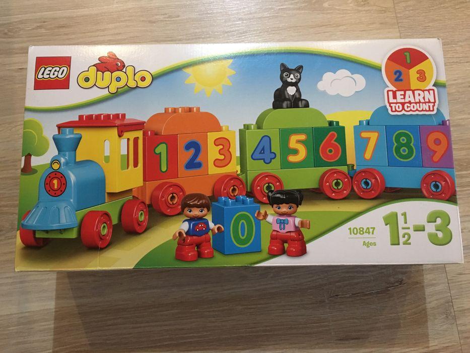 Lego Duplo Pociąg z cyferkami 10847 Koziegłowy - image 1