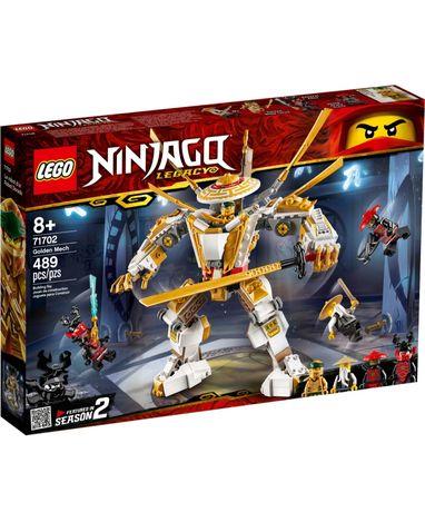 Конструктор LEGO Ninjago Золотой робот (71702) оригинал, новый лего