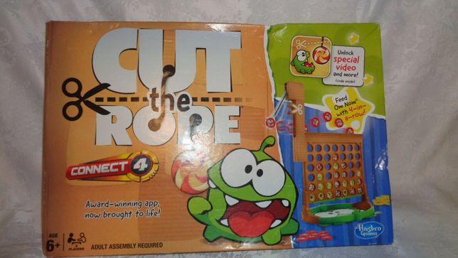 Kolekcjonerska Gra Hasbro CUT the Rope Gra OM NOM