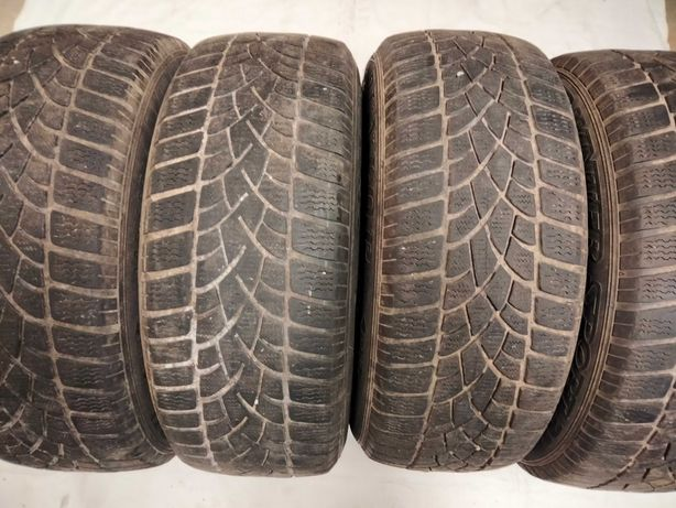 Opony zimowe Dunlop 205/55/16