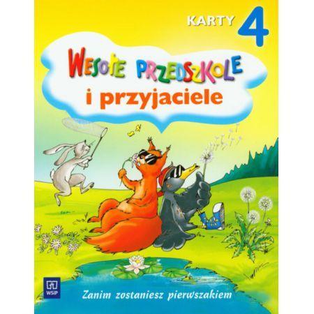 Wesołe przedszkole i przyjaciele - karty pięciolatka cz. 4