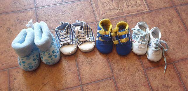 Обувь детская. Кроссовки Adidas. Пинетки. 3 - 6 мес.  Цена за всё