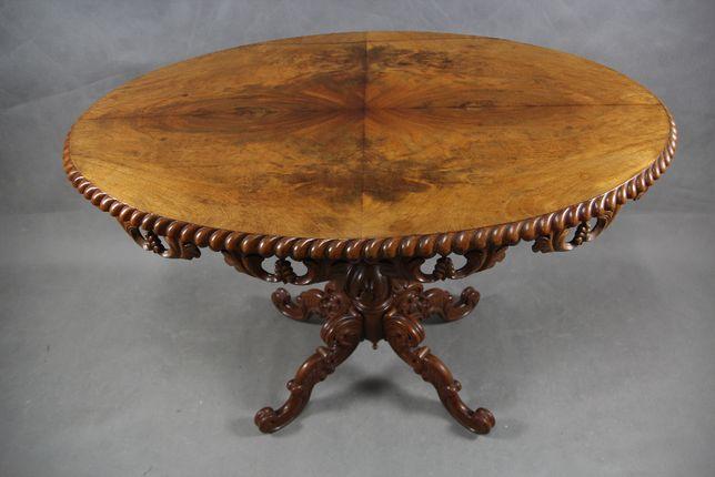 Duży stary kawowy stół stolik - do renowacji