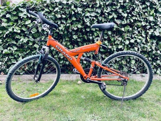 Rower grand pomarańczowy